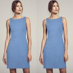 MM LaFleur Lydia Midi Dress Cornflower Blue